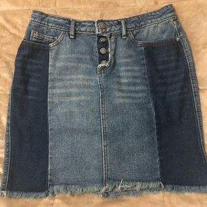 William Rast Denim Skirt